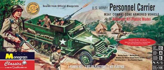 アメリカ陸軍 パーソナル キャリアプラモデル(レベル1/35 ミリタリーNo.85-0035)商品画像