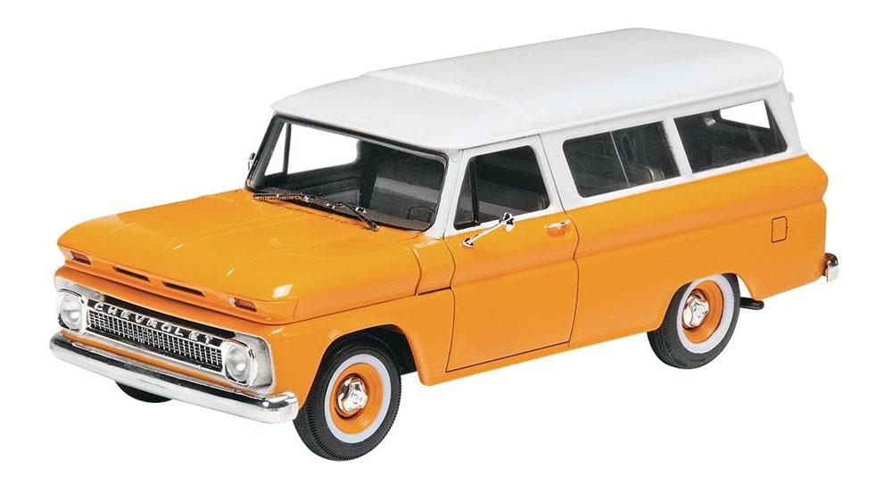 '66 シェビー サバーバンプラモデル(レベルカーモデルNo.85-4409)商品画像_1