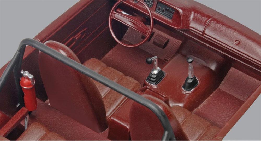 '66 シェビー サバーバンプラモデル(レベルカーモデルNo.85-4409)商品画像_3