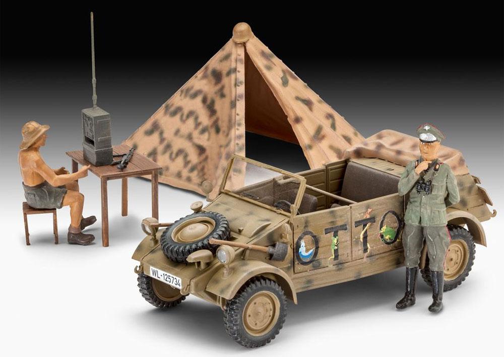 キューベルワーゲン 82型 ドイツ軍スタッフカープラモデル(レベル1/35 ミリタリーNo.03253)商品画像_2