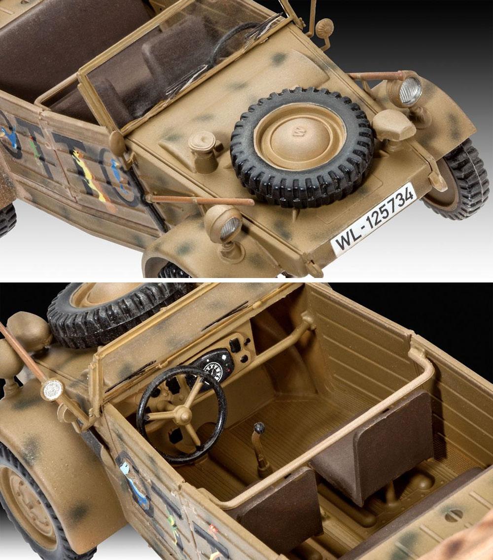 キューベルワーゲン 82型 ドイツ軍スタッフカープラモデル(レベル1/35 ミリタリーNo.03253)商品画像_3