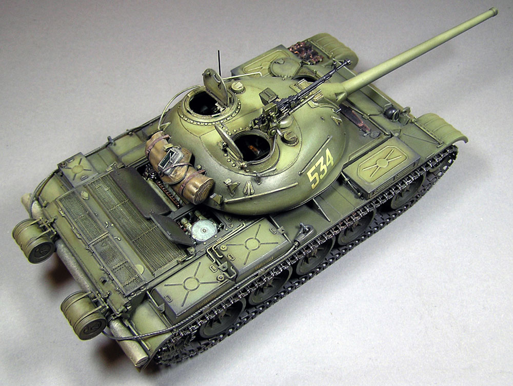 T-54-2 MOD.1949プラモデル(ミニアート1/35 ミリタリーミニチュアNo.37012)商品画像_3
