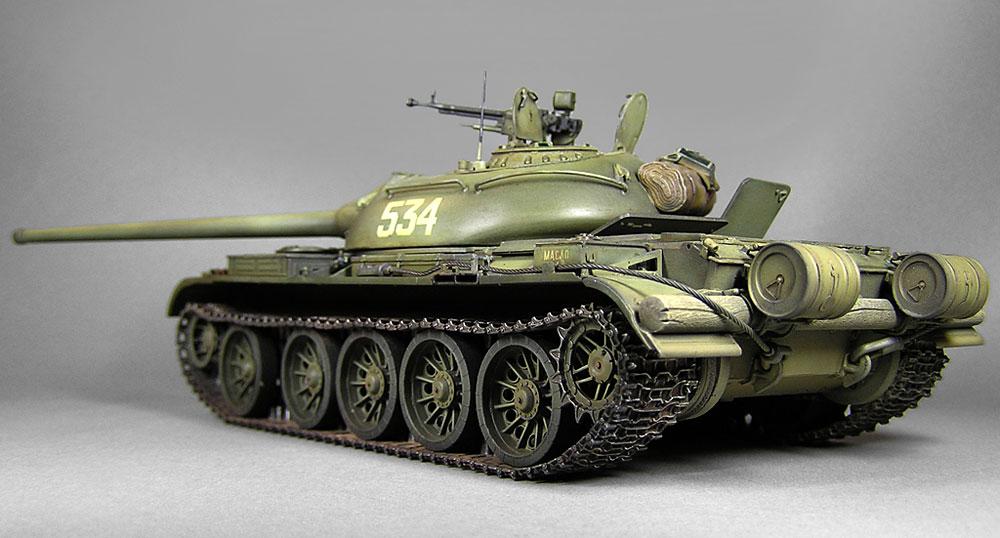 T-54-2 MOD.1949プラモデル(ミニアート1/35 ミリタリーミニチュアNo.37012)商品画像_4