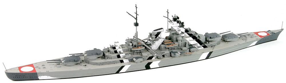 ドイツ海軍 ビスマルク級戦艦 ビスマルクプラモデル(ピットロード1/700 スカイウェーブ W シリーズNo.旧W192)商品画像_3