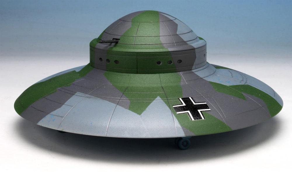 WW2 ドイツ 秘密兵器 ハウニブ 2 フライングソーサープラモデル(ペガサスホビープラスチックモデルキットNo.9119)商品画像_1