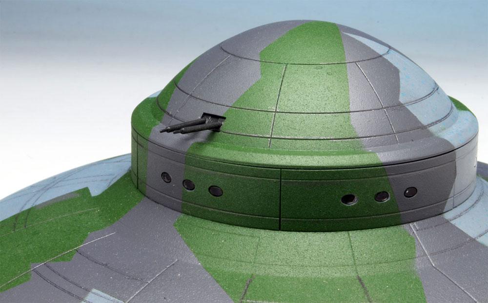 WW2 ドイツ 秘密兵器 ハウニブ 2 フライングソーサープラモデル(ペガサスホビープラスチックモデルキットNo.9119)商品画像_3