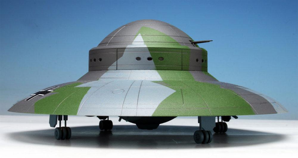 WW2 ドイツ 秘密兵器 ハウニブ 2 フライングソーサープラモデル(ペガサスホビープラスチックモデルキットNo.9119)商品画像_4