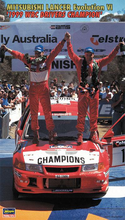 三菱 ランサー エボリューション 4 1999 WRC ドライバーズ チャンピオンプラモデル(ハセガワ1/24 自動車 限定生産No.20303)商品画像