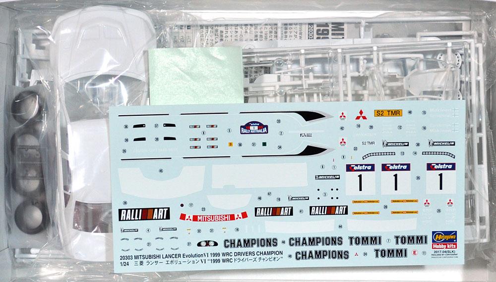 三菱 ランサー エボリューション 4 1999 WRC ドライバーズ チャンピオンプラモデル(ハセガワ1/24 自動車 限定生産No.20303)商品画像_1