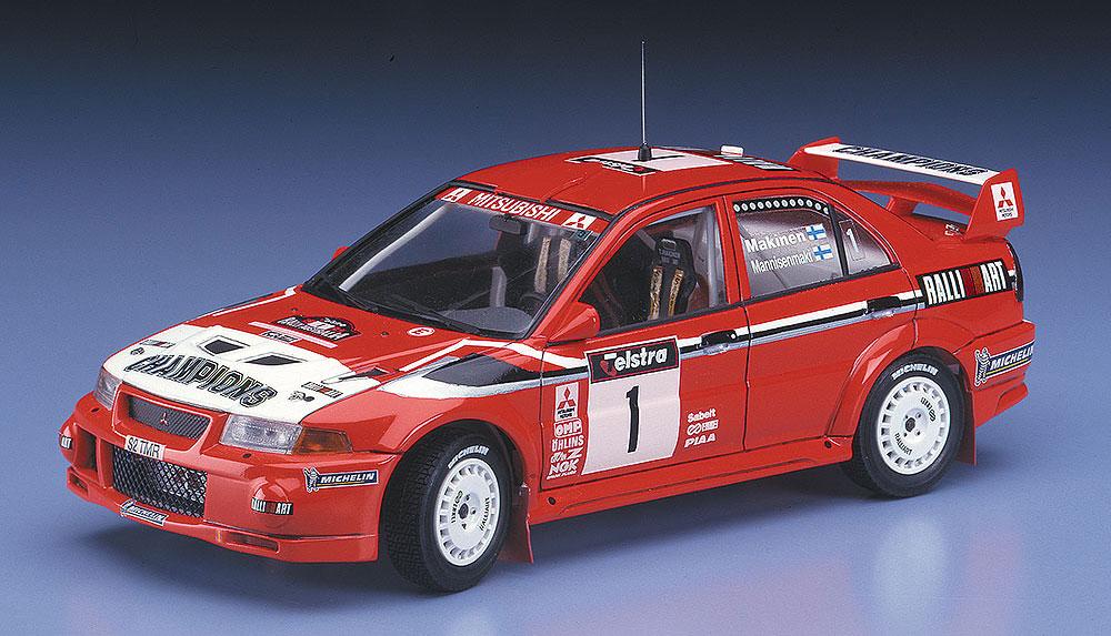 三菱 ランサー エボリューション 4 1999 WRC ドライバーズ チャンピオンプラモデル(ハセガワ1/24 自動車 限定生産No.20303)商品画像_2