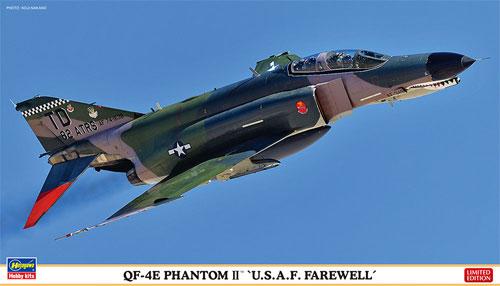QF-4E ファントム 2 U.S.A.F. フェアウェルプラモデル(ハセガワ1/72 飛行機 限定生産No.02238)商品画像