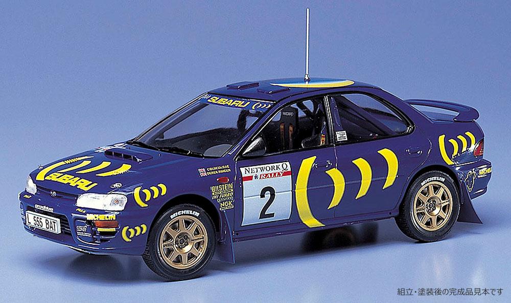 スバル インプレッサ 1993年 RAC ラリープラモデル(ハセガワ1/24 自動車 限定生産No.20297)商品画像_3