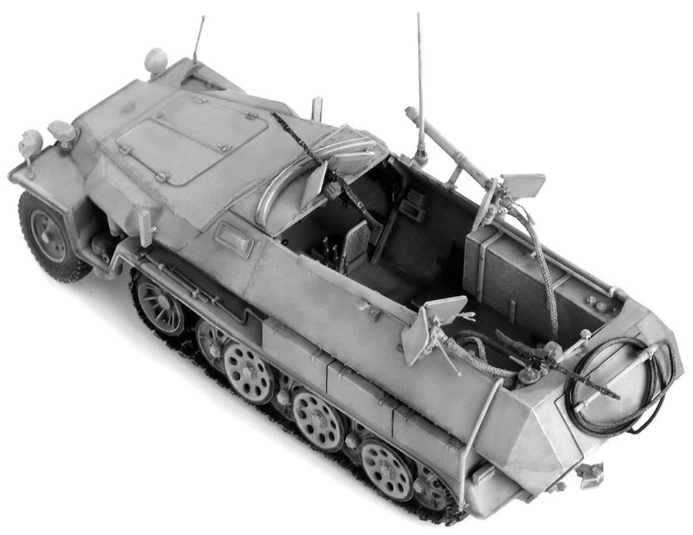 ドイツ Sd.Kfz.251/16 Ausf.C 火炎放射型プラモデル(ドラゴン1/35 '39-'45 SeriesNo.6864)商品画像_3
