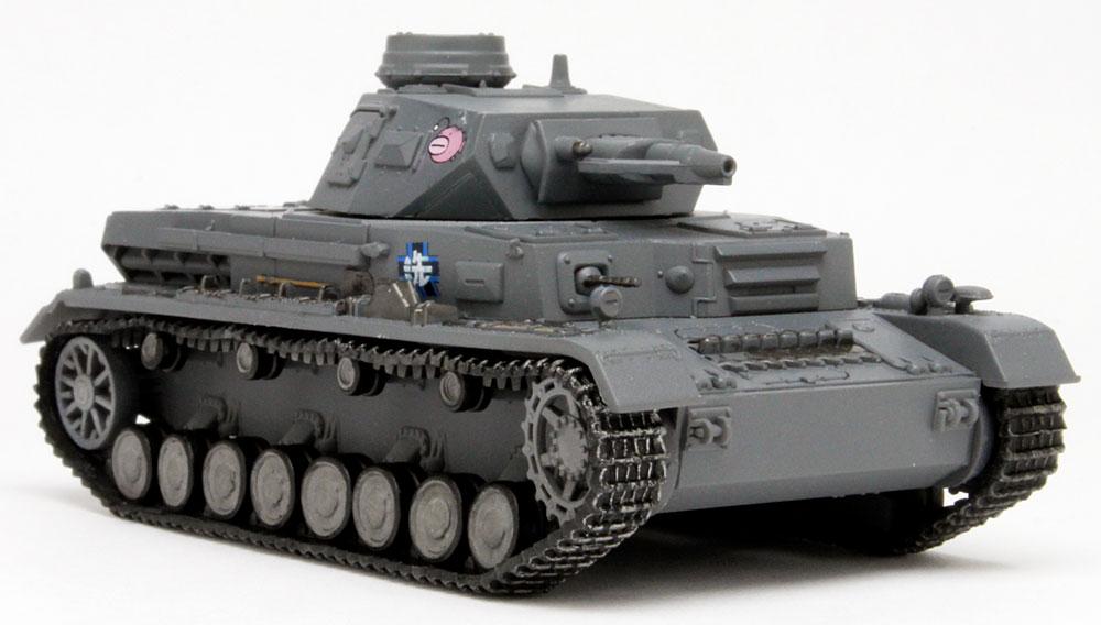 4号戦車 D型 あんこうチーム 全国大会時完成品(プラッツてのひら戦車道コレクションNo.GPC72-001)商品画像_2