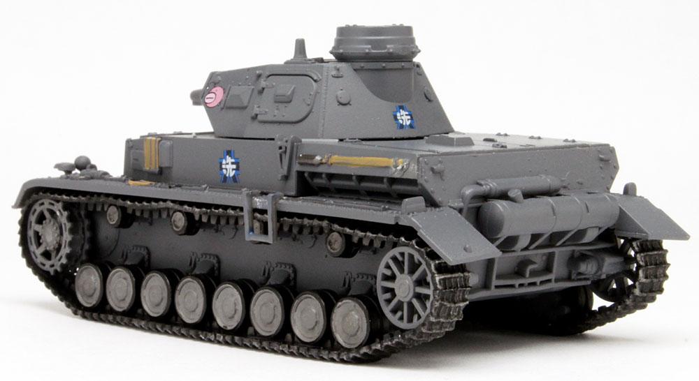 4号戦車 D型 あんこうチーム 全国大会時完成品(プラッツてのひら戦車道コレクションNo.GPC72-001)商品画像_3