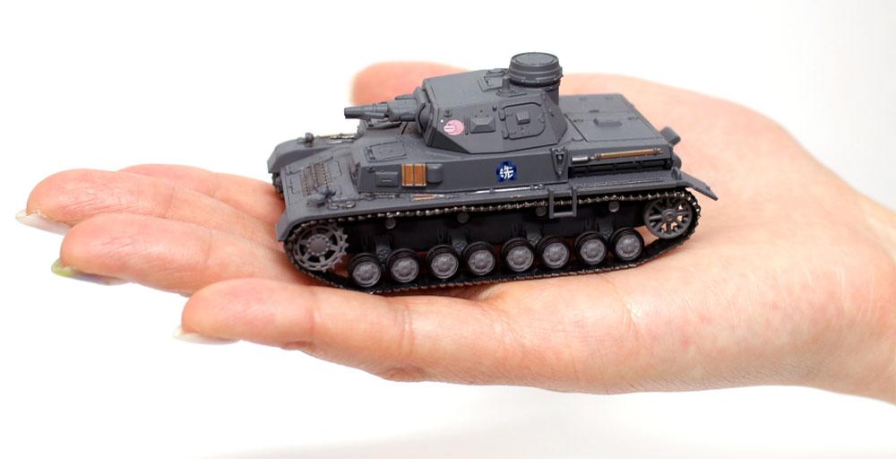 4号戦車 D型 あんこうチーム 全国大会時完成品(プラッツてのひら戦車道コレクションNo.GPC72-001)商品画像_4