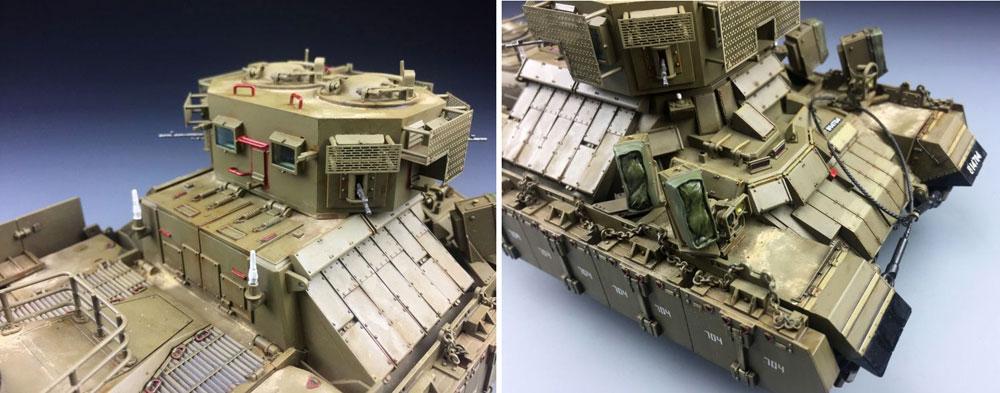 イスラエル ナグマホン ドックハウス 装甲兵員輸送車 初期型プラモデル(タイガーモデル1/35 AFVNo.4624)商品画像_3