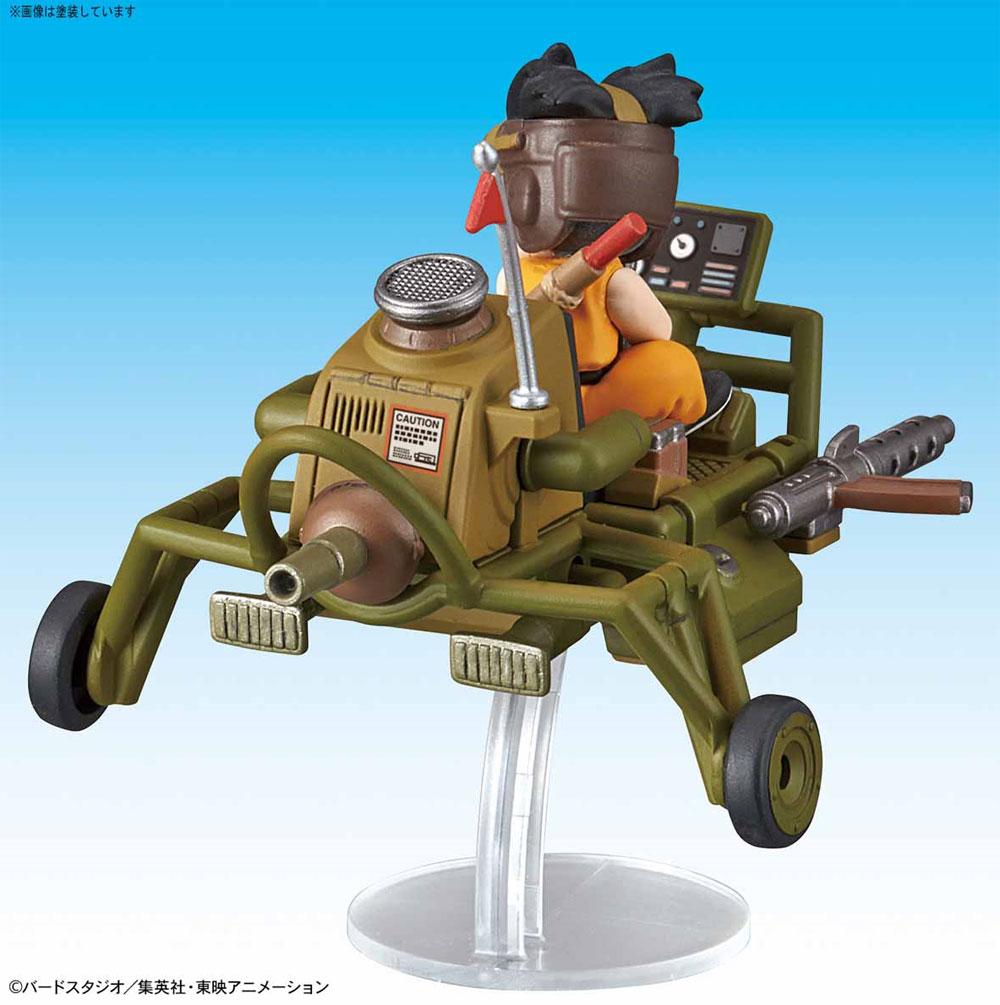 孫悟空のジェットバギープラモデル(バンダイメカコレクション ドラゴンボールNo.004)商品画像_3