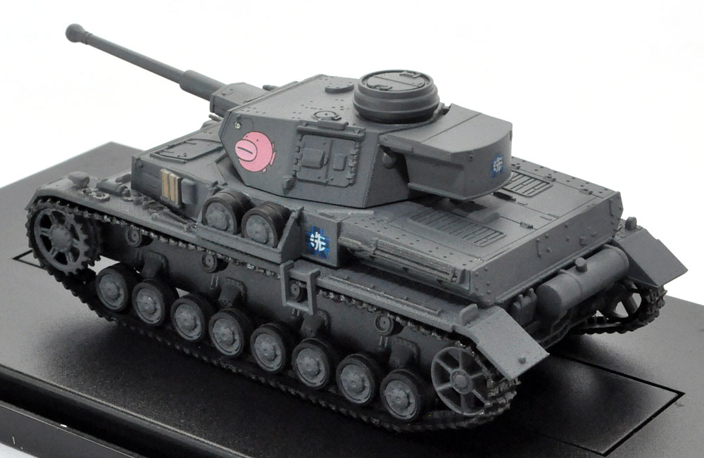4号戦車 F2型 (D型改) あんこうチーム完成品(プラッツてのひら戦車道コレクションNo.GPC72-002)商品画像_3