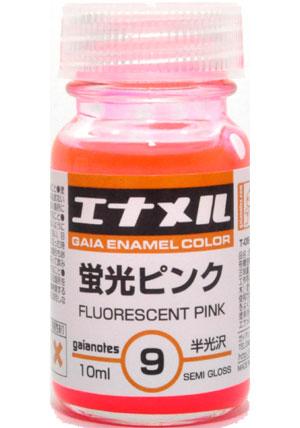 蛍光ピンク (GE-09)塗料(ガイアノーツガイアエナメルカラーNo.74009)商品画像