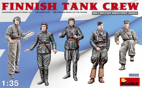フィンランド 戦車兵プラモデル(ミニアート1/35 WW2 ミリタリーミニチュアNo.35222)商品画像