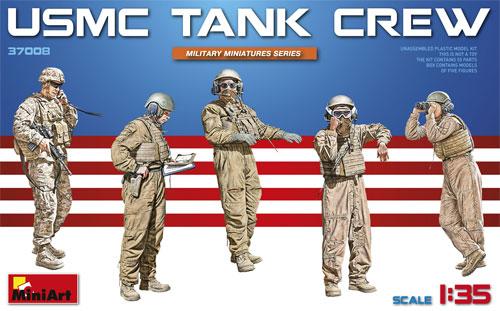 アメリカ 海兵隊 タンククループラモデル(ミニアート1/35 ミリタリーミニチュアNo.37008)商品画像