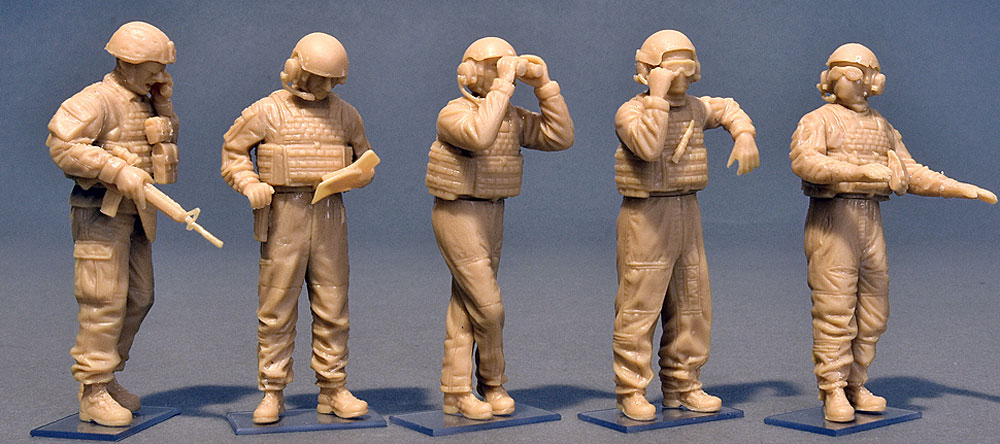 アメリカ 海兵隊 タンククループラモデル(ミニアート1/35 ミリタリーミニチュアNo.37008)商品画像_2