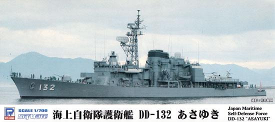 海上自衛隊 護衛艦 DD-132 あさゆきプラモデル(ピットロード1/700 スカイウェーブ J シリーズNo.J-078)商品画像