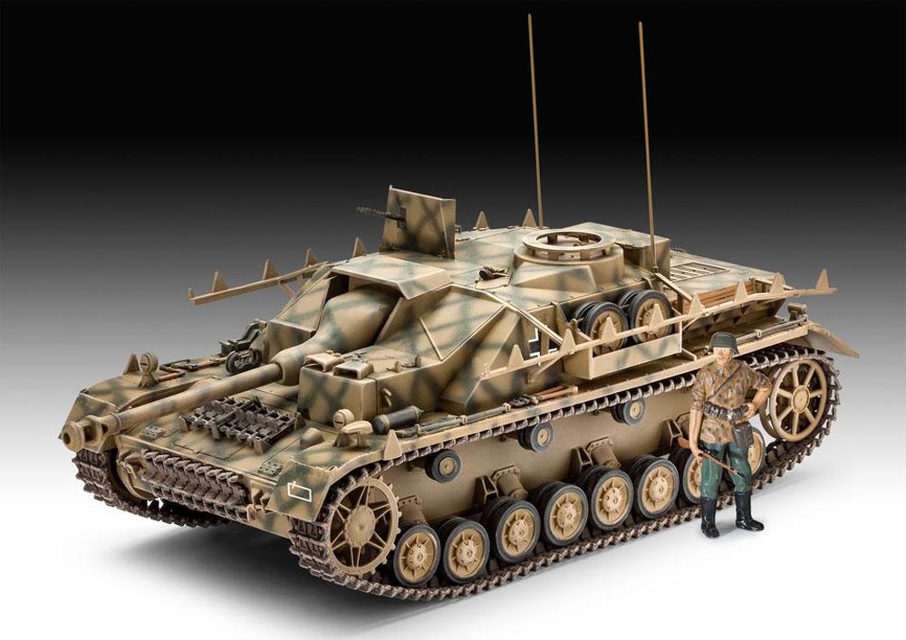 Sd.Kfz.167 4号突撃砲プラモデル(レベル1/35 ミリタリーNo.03255)商品画像_2