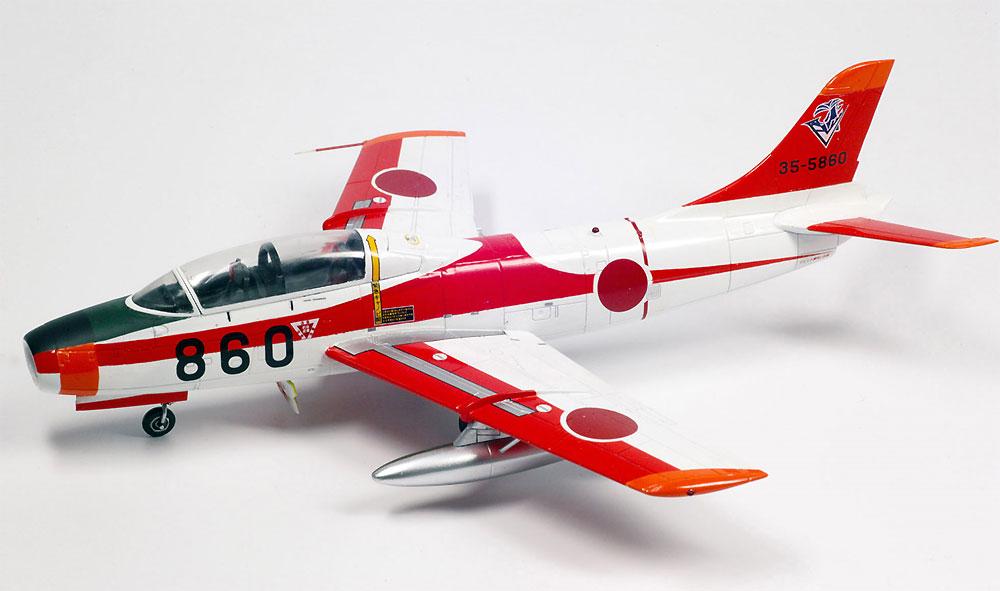 航空自衛隊 T-1B ジェット練習機プラモデル(プラッツ航空自衛隊機シリーズNo.AC-022)商品画像_3