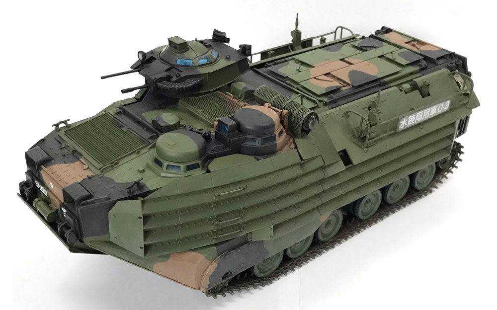 陸上自衛隊 水陸両用車 AAV7A1プラモデル(童友社1/35 プラモデルNo.DMM-001)商品画像_2