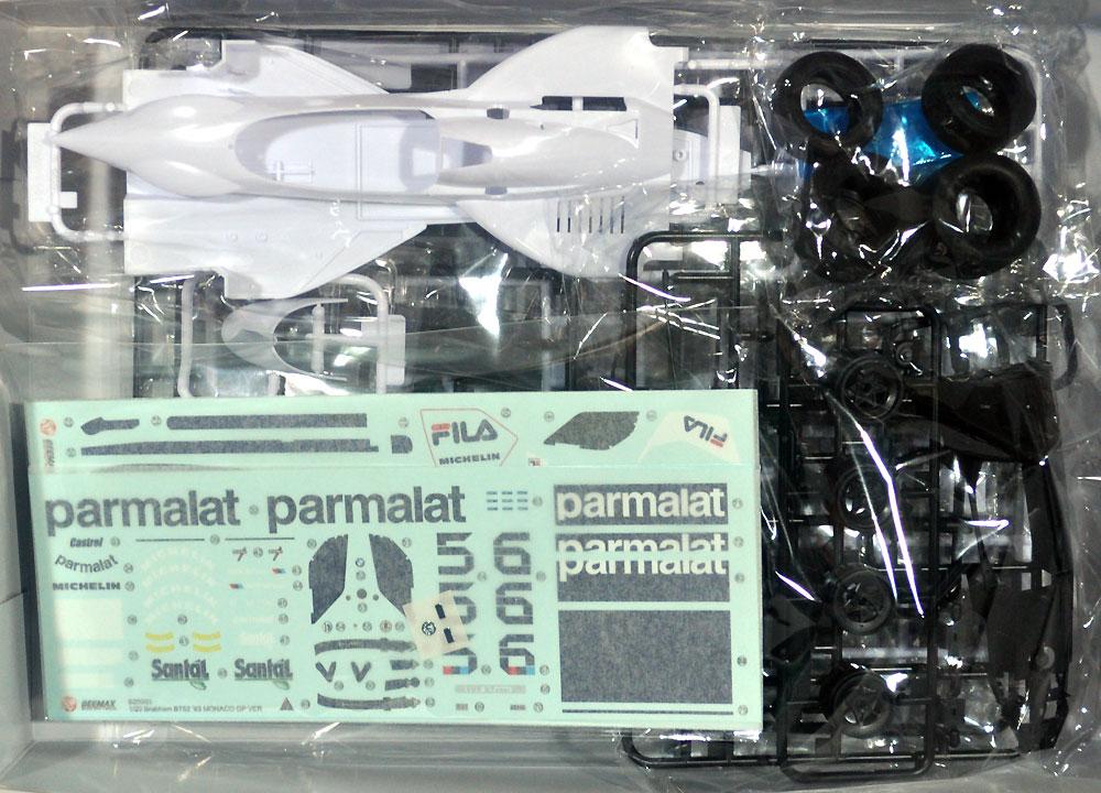 ブラバム BT52 '83 モナコグランプリ仕様プラモデル(BEEMAX1/20 カーモデルNo.014)商品画像_1