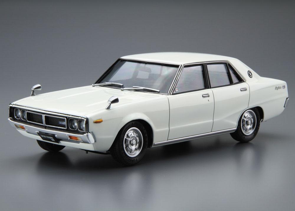 ニッサン GC110 スカイライン 2000GT '72プラモデル(アオシマ1/24 ザ・モデルカーNo.047)商品画像_2