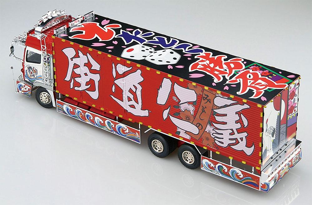ミスターXプラモデル(アオシマ1/32 バリューデコトラ シリーズNo.008)商品画像_2