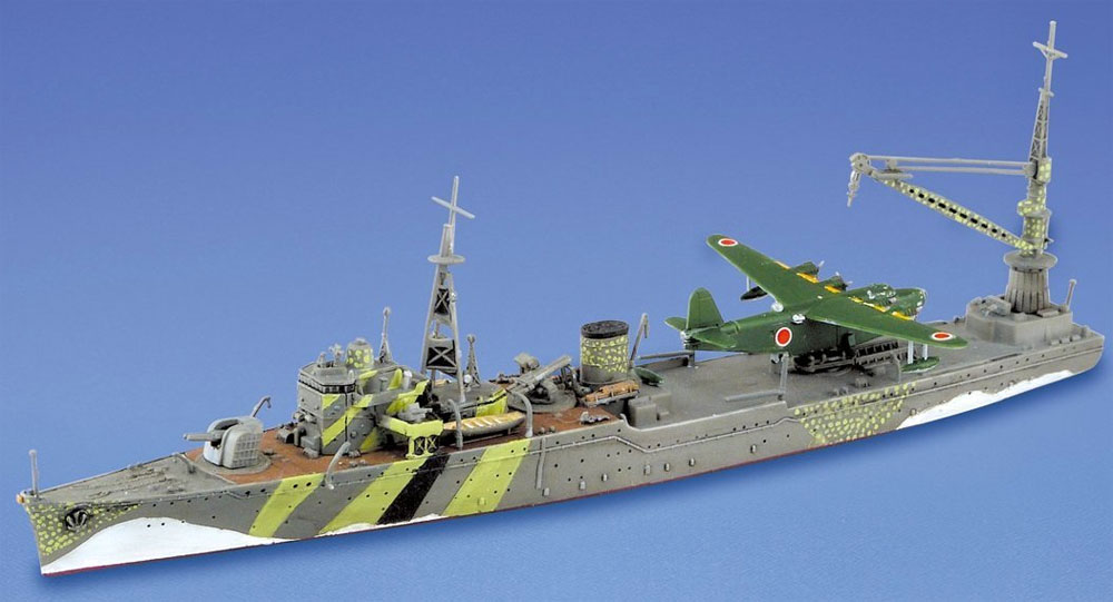 水上機母艦 秋津洲プラモデル(アオシマ1/700 ウォーターラインシリーズNo.565)商品画像_2