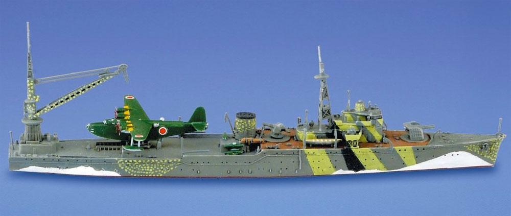 水上機母艦 秋津洲プラモデル(アオシマ1/700 ウォーターラインシリーズNo.565)商品画像_3