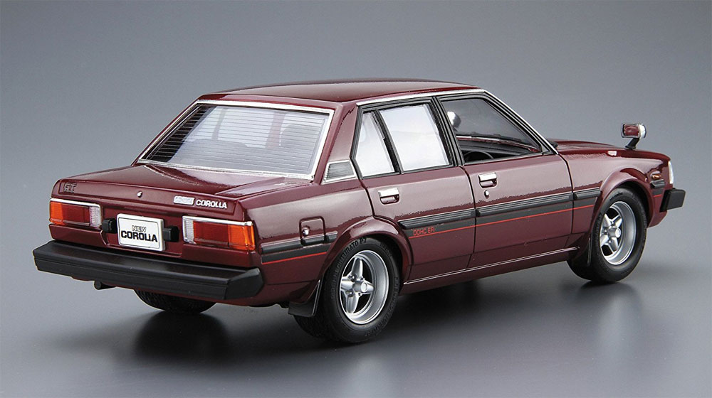トヨタ E70 カローラセダン GT/DX '79プラモデル(アオシマ1/24 ザ・モデルカーNo.044)商品画像_3