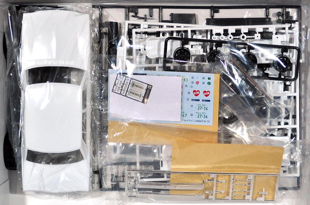 ニッサン PGC10 スカイライン 2000GT-R '70プラモデル(アオシマ1/24 ザ・モデルカーNo.045)商品画像_1