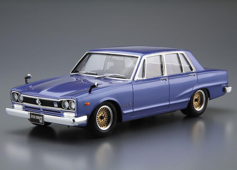 ニッサン GC10 スカイライン 2000GT '71プラモデル(アオシマ1/24 ザ・モデルカーNo.旧046)商品画像_2