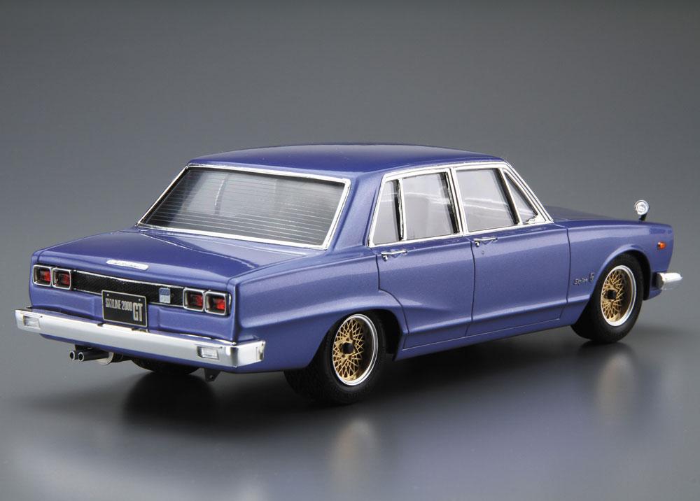 ニッサン GC10 スカイライン 2000GT '71プラモデル(アオシマ1/24 ザ・モデルカーNo.旧046)商品画像_3
