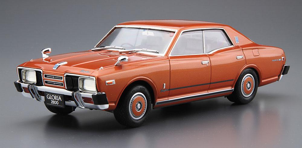 ニッサン P332 セドリック / グロリア 4HT 280E ブロアム '78プラモデル(アオシマ1/24 ザ・モデルカーNo.旧053)商品画像_2