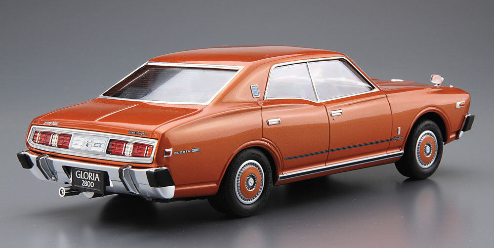 ニッサン P332 セドリック / グロリア 4HT 280E ブロアム '78プラモデル(アオシマ1/24 ザ・モデルカーNo.旧053)商品画像_3