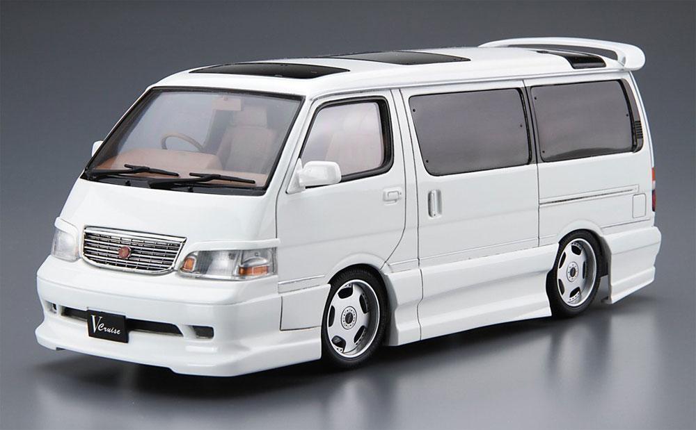アズマックス KZH100 ハイエース '99 (トヨタ)プラモデル(アオシマ1/24 ザ・チューンドカーNo.025)商品画像_2