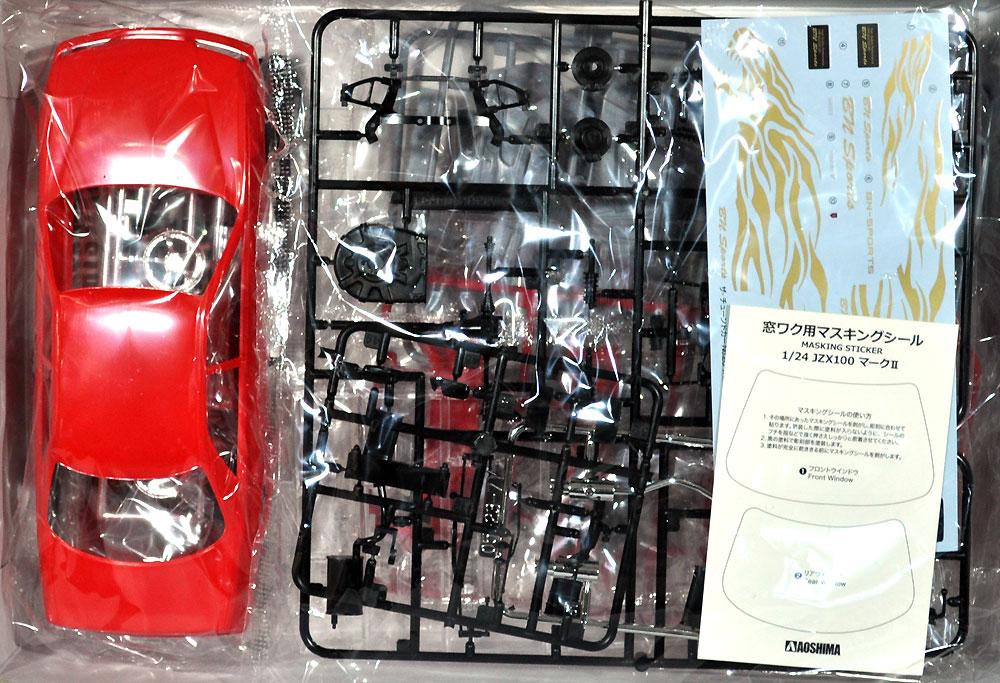 BNスポーツ JZX100 マーク 2 ツアラーV '98 (トヨタ)プラモデル(アオシマ1/24 ザ・チューンドカーNo.026)商品画像_1