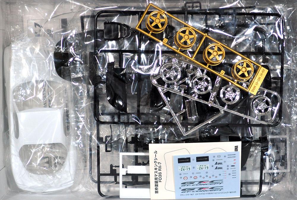マツダスピード FD3S RX-7 Aスペック GTコンセプト '99 (マツダ)プラモデル(アオシマ1/24 ザ・チューンドカーNo.027)商品画像_1