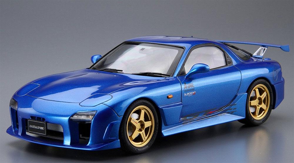 マツダスピード FD3S RX-7 Aスペック GTコンセプト '99 (マツダ)プラモデル(アオシマ1/24 ザ・チューンドカーNo.027)商品画像_2