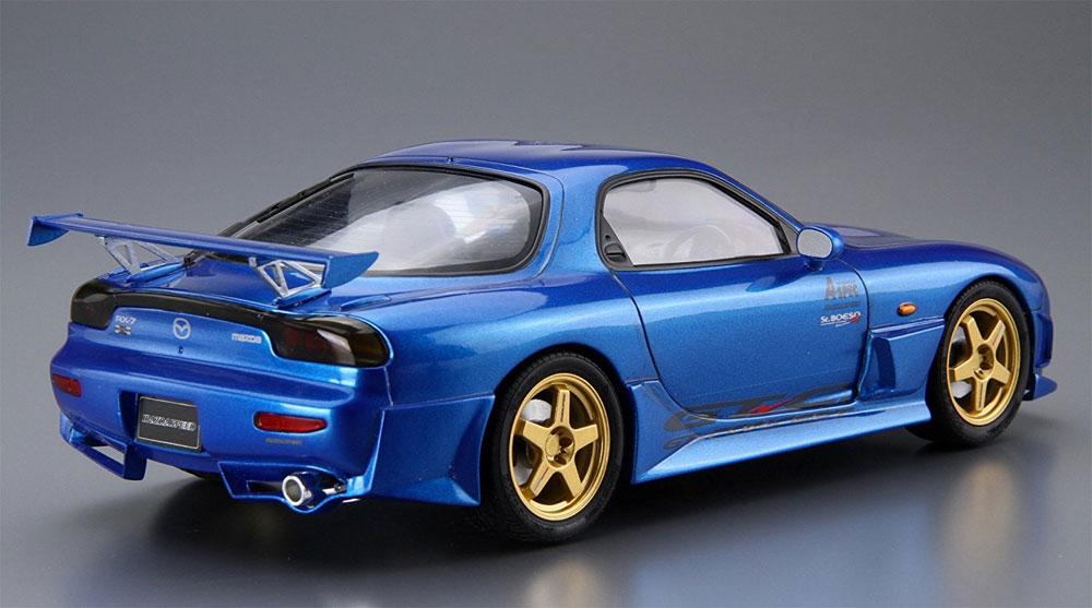 マツダスピード FD3S RX-7 Aスペック GTコンセプト '99 (マツダ)プラモデル(アオシマ1/24 ザ・チューンドカーNo.027)商品画像_3