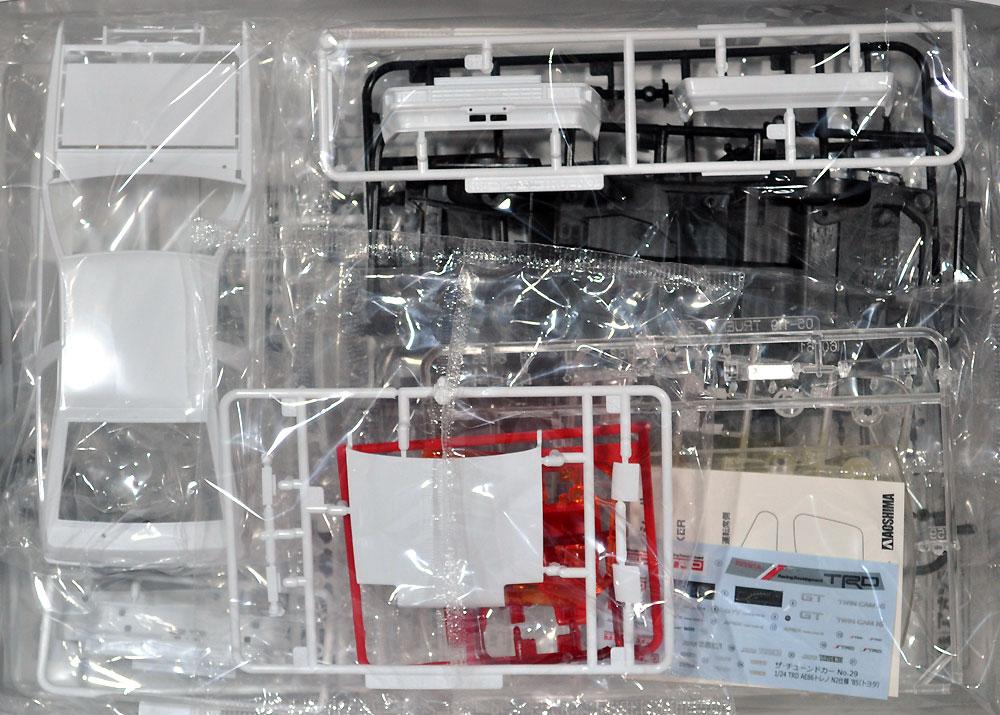 TRD AE86 トレノ N2仕様 '85 (トヨタ)プラモデル(アオシマ1/24 ザ・チューンドカーNo.旧029)商品画像_1