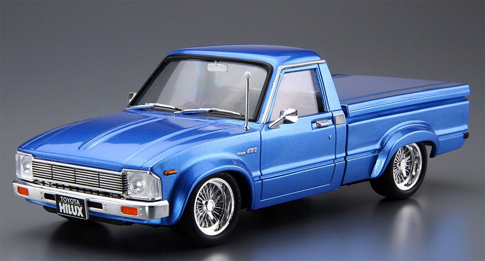 RN30 ハイラックス カスタム '78 (トヨタ)プラモデル(アオシマ1/24 ザ・チューンドカーNo.030)商品画像_2