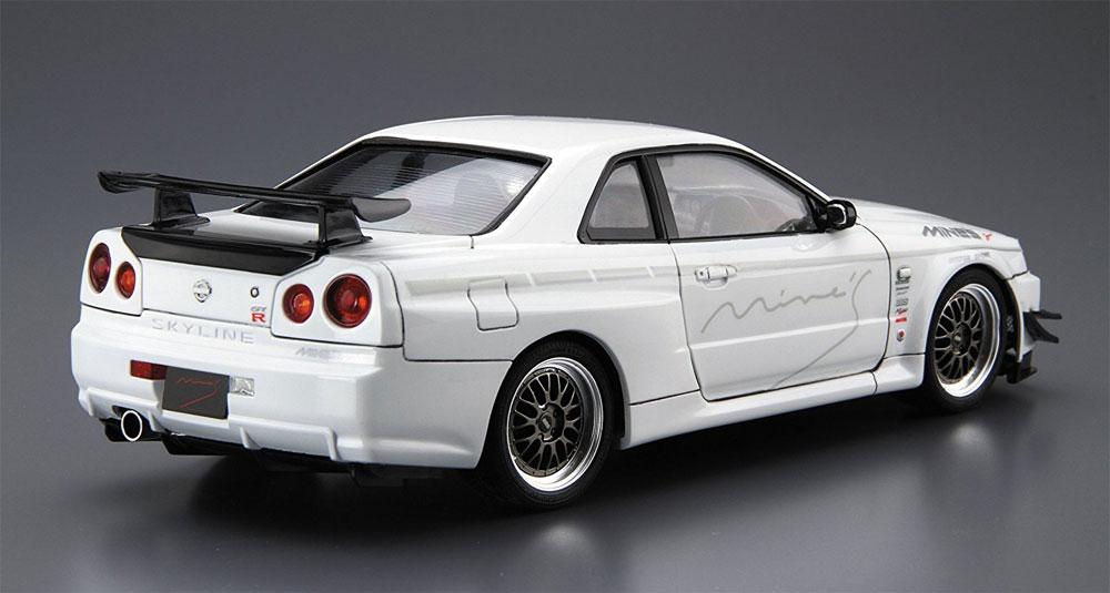 マインズ BNR34 スカイライン GT-R '02 (ニッサン)プラモデル(アオシマ1/24 ザ・チューンドカーNo.034)商品画像_3